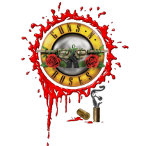 Guns and roses full color