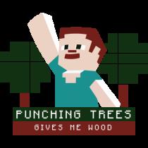 Minecraft - Punching Tress