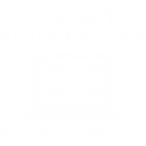 Im not slacking off my code compiling
