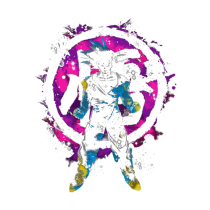 Goku Kanji Color