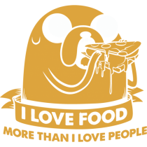 Adventure time - I love food