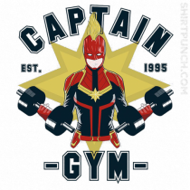 Capitana marvel gym