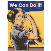 Leia we can do it