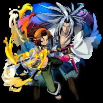 Yoh and Amidamaru