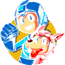 Megaman y rush