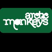 Arctics Monkeys - Logo Verde